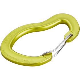 AustriAlpin Micro Wiregate Carabiner yellow anodised